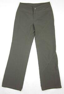Athleta Fleece Lined Soft Shell Hiking Ski Pants #45336 Size 4T Tall Dark Brown