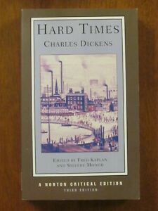 HARD TIMES by CHARLES DICKENS NORTON CRITICAL EDITION 3rd EDITION PB 2001 EXC