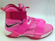 Nike LeBron Soldier Ten Basketball Shoe Breast Cancer Think Pink Yow LRJ LSX 17