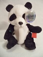 Plush Coca Cola Panda Bear China Zhongshi Coke Bean Style 228 1998 International