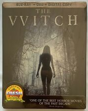 NEW THE WITCH LIMITED EDITION BLU RAY DVD CANADIAN EXCLUSIVE STEELBOOK RARE OOP