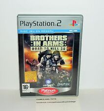 JEU PS2 PLATINUM COMPLET BROTHERS IN ARMS ROAD TO HILL 30