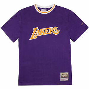 Mitchell & Ness Lightweight French Terry Tee Kobe Bryant LA Lakers T-Shirt