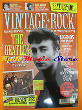 rivista VINTAGE ROCK 5/2012 Beatles Billy Fury Little Milton PJ Proby  No cd