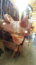 "Used 14"" original bob marshall treeless saddle"