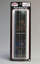 "ATLAS HO SCALE CODE 100 9"" STRAIGHT TRAIN TRACK (6) pack nickel silver 821 NEW"
