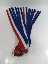 """Neck Ribbon Medal Awards lot 12pcs 1-1/2 x 16"""" L..."""