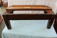 "Globe Wernicke 3/4 Stacking Bookcase Mission Style Base Quarter Sawn ""D"""