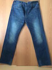 Rare Rarität Jeans Levi's 201(0022) W33(36) L34 Bleu Foncé