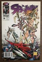 Spawn 9 1993 Newsstand 1:100 variant Image Comic First appearance Angela Marvel