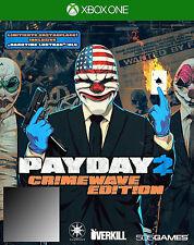 Payday 2 -- Crimewave Edition (Microsoft Xbox One, 2015)