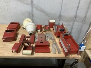 Tonka Cement Mixer and Fire Truck Parts