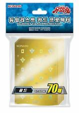 "Yu-Gi-Oh Card Sleeves ""20th Anniversary Gold"" (70pcs) / Korean"