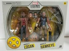 "Marvel Legends Series 6"" Logan & Hawkeye by Hasbro New Sealed Fast Shipping!"