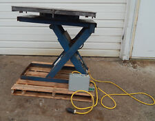 Action Production Tools Mt100 A1436 Scissor Lift With Turn Table 3700lbs Cap