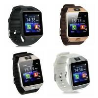 Dz09 bluetooth smart watch kamera phone mate gsm sim android Heiß für samsu C8I1