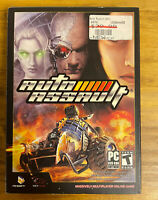 NEW - Y Sealed - Auto Assault - PC Multiplayer Online Game UNIQUE FIND COOL BOX