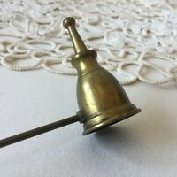 Vintage Brass Hand Candle Snuffer