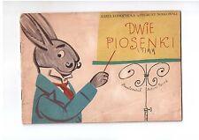 Konopnicka Noskowski Dwie piosenki Poczytaj mi mamo Polish book for children