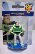 "NEW MATTEL DISNEY TOY STORY 4 BUZZ LIGHTYEAR MINI 2"" INCH CAKE TOPPER FIGURE!"