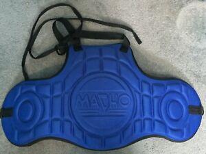 MACHO CHEST PROTECTOR TAEKWONDO MARTIAL ARTS SPARRING LIGHTWEIGHT BLUE/BLK