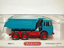 Wiking MAN 6 Wheel Tipper Truck