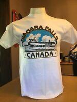 VINTAGE 1990's NIAGARA FALLS CANADA VACATION SOUVENIR SHIRT MEDIUM