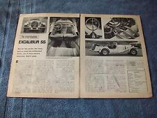 1969 Excalibur Vintage Road Test Info Article S.S. Automobiles Inc.