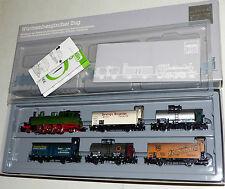 Märklin 2857 Württembergischer Zug, 6 tlg. Set mit Dampflok T5 / 1205, 5 Wagen