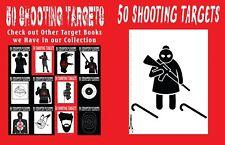 50 Shooting Targets #2: #286 - 50 Shooting Targets 8. 5 X 11 - Silhouette, Targe