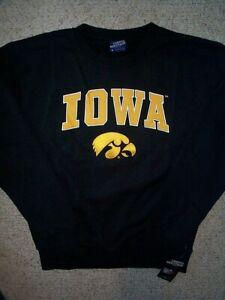 ($55) Iowa Hawkeyes ncaa Jersey Sweatshirt Adult MEN'S/MENS (s-sm-small)