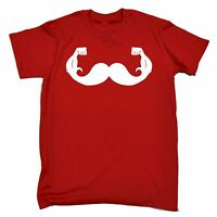 Moustache Game Strong MENS T-SHIRT tee birthday gift hipster gym muscle funny