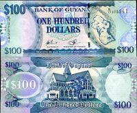 GUYANA 100 DOLLARS ND 2009 P 36 b UNC