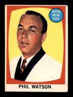 1961 Topps #1 Phil Watson CO ! VGEX X1502838