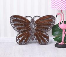 Fussmatte Gusseisen Fussabtreter Landhausstil Schmetterling Türmatte