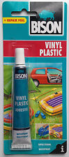 Bison Vinyl Plastic Super Strong Waterproof Repair Adhesive Glue for PVC 25ml