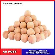 Cedar Moth Balls wardrobe repellent Clothes Insects Natural Wood