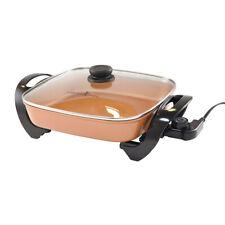 """Copper Chef Cerami-Tech Non-Stick Copper 12"""" Electric Skillet As Seen On TV"""