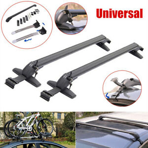 110cm Universal Aluminum Car Roof Rail Luggage Rack Baggage Carrier Cross Bar