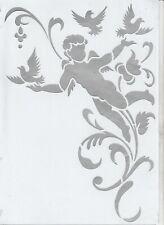 Schablonen 331 Flügel Tattoos Stencils Leinwand Textilgestaltung Airbrush Engel