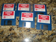 """Don Bluth's Dragon's Lair - Commodore Amiga 3.5"""" floppy disks"""
