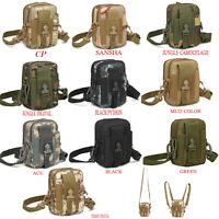 Outdoor Sport Wasit Bag Tactical Molle Army Military Waist Bags For Mobile Phone