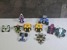 Lot of 10 Vintage Galoob Micro Machines Mini Z-BOTS