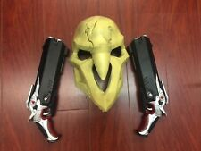 Overwatch Reaper Mask &  (2) Guns Cosplay Halloween NEW!!! USA Sellers