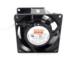 Dayton 3le75 Standard Square Axial Fan 3 18 X 1 12 115v Ac