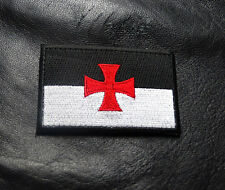 KNIGHTS TEMPLAR CROSS INFIDEL CHRISTIAN IRON ON SEW ON PATCH
