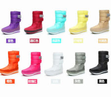 Fashion Women's Girls Winter Warm Lining Snow Joggers waterproof Women's Boots