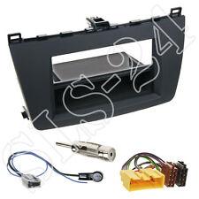 MAZDA 6 ab08 Doppel-DIN Autoradio Radioblende+Fach+ISO Radio Adapter Einbau-Set