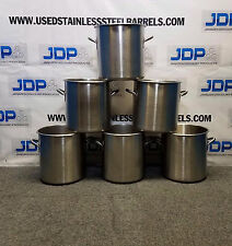 26 Quart stainless steel commercial stock pot