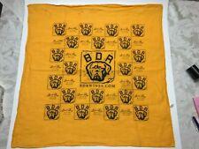 2004 Yellow BDR Bad Dog Ranch Vineyards Bandana
